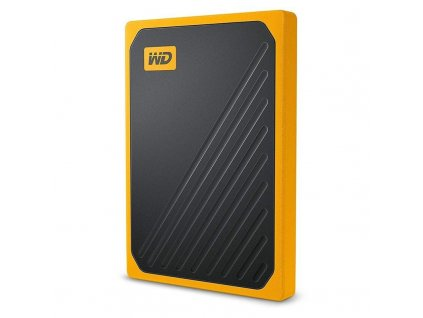 SSD externí Western Digital My Passport Go 2TB žlutý (WDBMCG0020BYT-WESN)