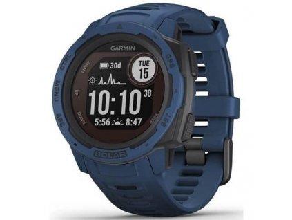 GPS hodinky Garmin Instinct Solar Optic modrá (010-02293-01)