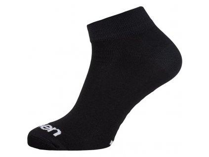 ponožky ELEVEN Luca BASIC vel. 8-10 (L) černé
