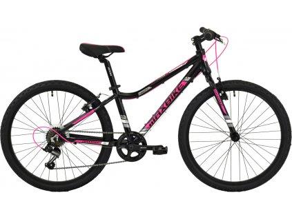 Maxbike Denali 24 2019 černý matný / růžová  Pro registrované možnost akce až 15% sleva