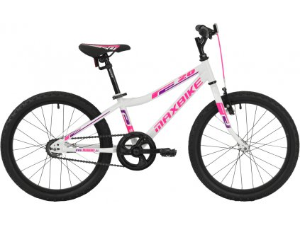 Maxbike Junior Basic 20 bílý 2019