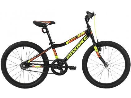 Maxbike Junior Basic 20 černý 2019  Pro registrované možnost akce až 15% sleva