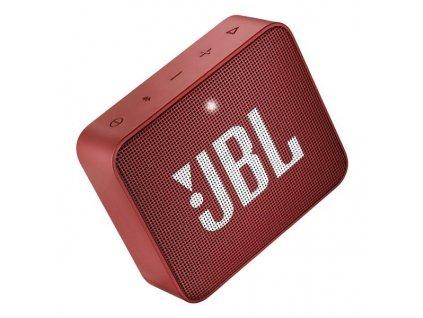 JBL GO 2 červený  Přenosný reproduktor