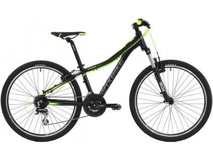 """Maxbike Nimba 26 13"""" 2019 černý matný + žlutá + zelená  Pro registrované možnost akce až 15% sleva"""