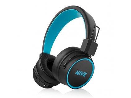 Sluchátka Niceboy HIVE 2 joy černá/modrá (hive-2-joy)