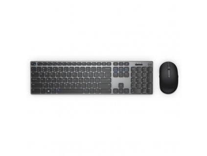Klávesnice s myší Dell KM717 černá/šedá (580-AFQM)