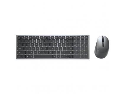 Klávesnice s myší Dell Multi-Device KM7120W, CZ/SK šedá (580-AIWQ)