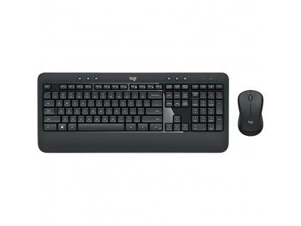 Klávesnice s myší Logitech Advanced Combo, CZ/SK černá (920-009086)