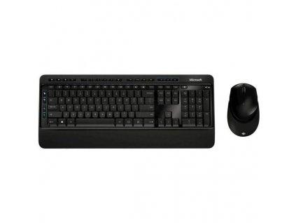 Klávesnice s myší Microsoft Wireless Desktop 3050, CZ/SK černá (PP3-00021)