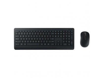 Klávesnice s myší Microsoft Wireless Desktop 900, USB, CZ/SK černá (PT3-00019)