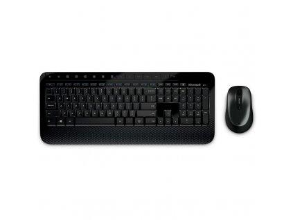 Klávesnice s myší Microsoft Desktop 2000, CZ/SK černá (M7J-00013)