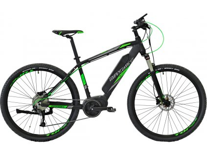 Maxbike E - Malawi 29 2019 černý mat + zelená  Pro registrované možnost akce až 15% sleva