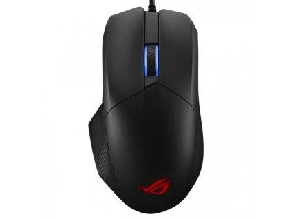 Myš Asus ROG Chakram Core černá (90MP01T0-BMUA00)