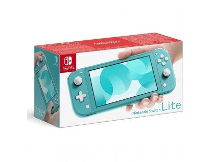 Herní konzole Nintendo Switch Lite modrá (NSH105)