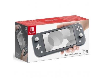 Herní konzole Nintendo Switch Lite šedá (NSH100)