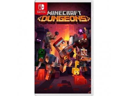 Hra Nintendo SWITCH Minecraft Dungeons (NSS446)