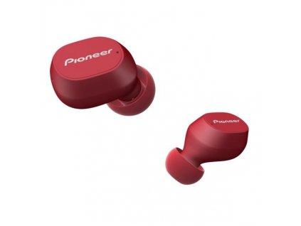 Sluchátka Pioneer SE-C5TW-R červená (SE-C5TW-R)
