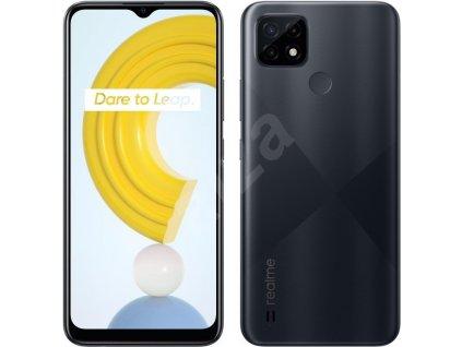 Mobilní telefon Realme C21 32GB černá