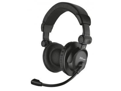 Headset Trust Como černý (21658)