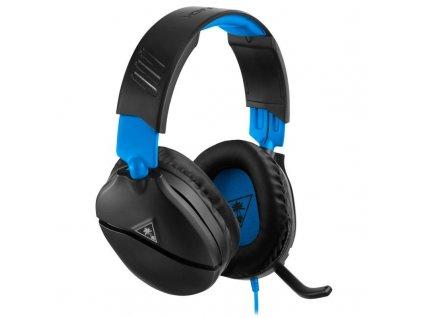 Headset Turtle Beach Recon 70 pro PS4 Pro/PS4 černý/modrý (TBS-3555-02)