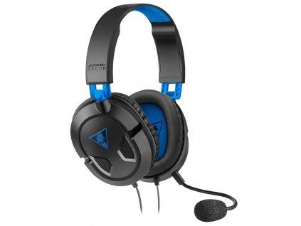 Headset Turtle Beach Recon 50 pro PS4 Pro/PS4 černý/modrý (TBS-3303-02)