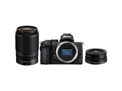 Digitální fotoaparát Nikon Z50 + 16-50 VR + 50-250 VR černý (VOA050K002)