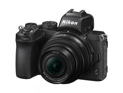 Digitální fotoaparát Nikon Z50 + 16-50 VR černý (VOA050K001)