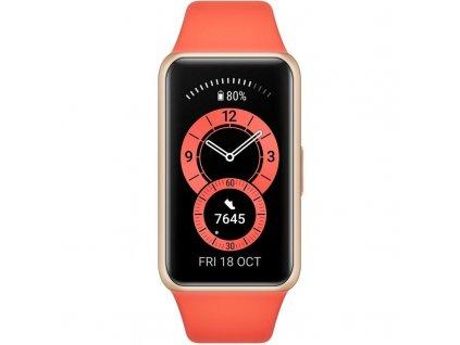 Fitness náramek Huawei Band 6 oranžový (55026636)