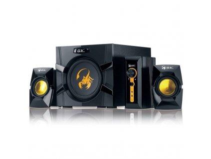 Reproduktory Genius GX Gaming SW-G2.1 3000, Verze II. (31730021400) černé/zlaté