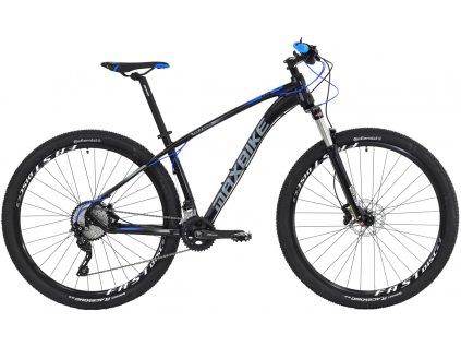 Maxbike Tana 29 2019 černý matný + modrá  Pro registrované možnost akce až 15% sleva