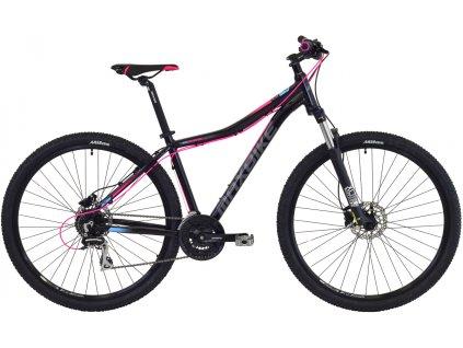 Maxbike Toba lady 29 2019 černý matný + růžová + modrá  Pro registrované možnost akce až 15% sleva