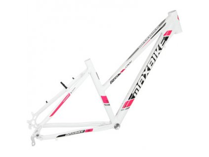Maxbike Aras lady 2019 bílý + růžová  Pro registrované možnost akce až 15% sleva