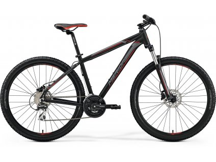 Merida BIG.SEVEN 20-D Matt Black(Red/Silver) 2019
