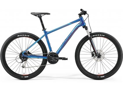 Merida BIG.SEVEN 100 Glossy Blue(Red) 2019