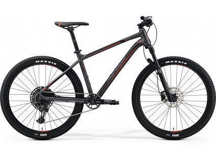 Merida BIG.SEVEN 600 Matt Dark Silver(Black/Red) 2019