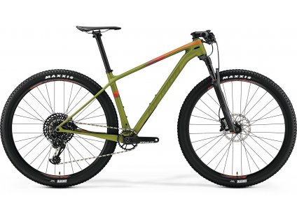 Merida BIG.NINE 6000 Matt Pine Green (Red) 2019