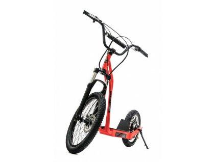 CITIWIEL elektro koloběžka Premium červená s odpruženou vidlicí