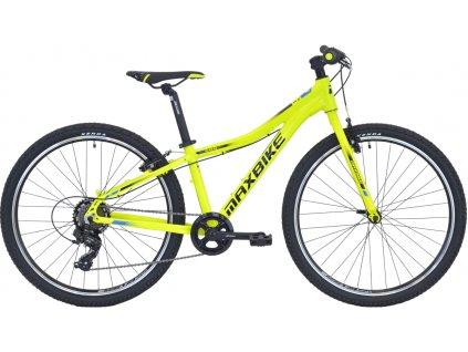 Maxbike Denali 26 2020 žlutý + modrá  Pro registrované zákazníky zajímavé bonusy, akce a to i na jiné značky naší nabídky modelů 2020