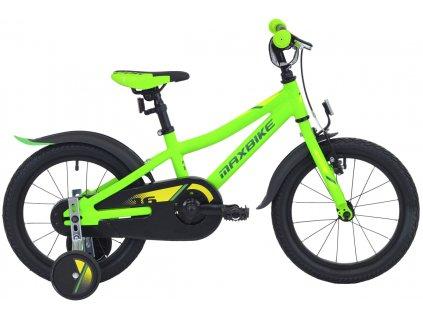 Maxbike Maxbike 16 2020 matně zelená  Pro registrované zákazníky zajímavé bonusy, akce a to i na jiné značky naší nabídky modelů 2020