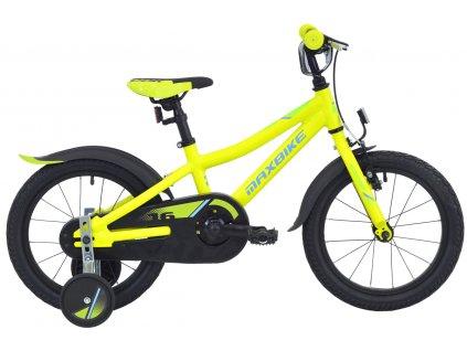 Maxbike Maxbike 16 2020 matně žlutá  Pro registrované zákazníky zajímavé bonusy, akce a to i na jiné značky naší nabídky modelů 2020