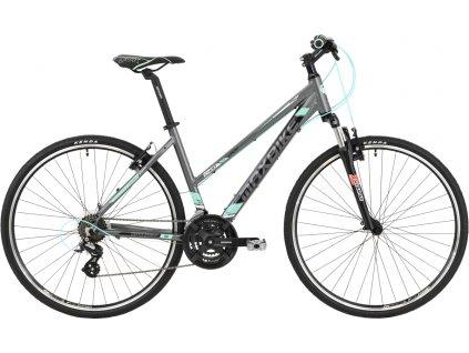 Maxbike Belize lady 2020 matně šedý + tyrkysová  Máte ičo registrujte se . Velkoobchodní ceny pro ičaře.