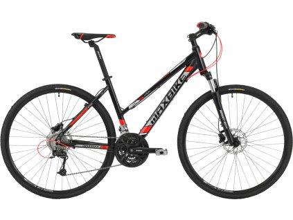 Maxbike Tuira lady 2020 matně černý + červená  Máte ičo registrujte se . Velkoobchodní ceny pro ičaře.