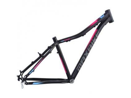 Maxbike Toba lady 27.5 2020 černý matný + růžová + modrá  Máte ičo registrujte se . Velkoobchodní ceny pro ičaře.