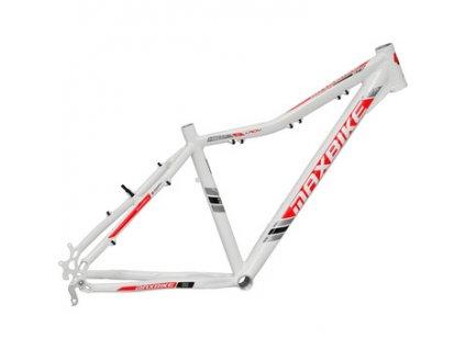 Maxbike Toba lady 27.5 2020 bílý + červená  Pro registrované zákazníky zajímavé bonusy, akce a to i na jiné značky naší nabídky modelů 2020