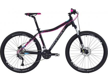 Maxbike Malawi lady 27.5 2020 černý matný + růžová + modrá  Pro registrované zákazníky zajímavé bonusy, akce a to i na jiné značky naší nabídky modelů 2020