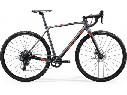 Merida MISSION CX 5000 Silk Silver/Black(Red) 2020