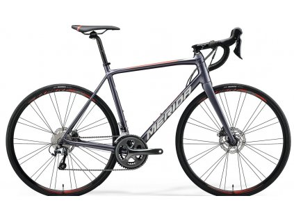 Merida SCULTURA DISC 300 Silk Anthracite(Race Red) 2020