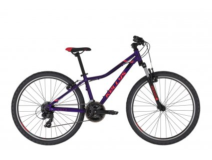 KELLYS Naga 70 Purple 2020  Na skladové zásoby komponentů a doplňků slevy až 50%