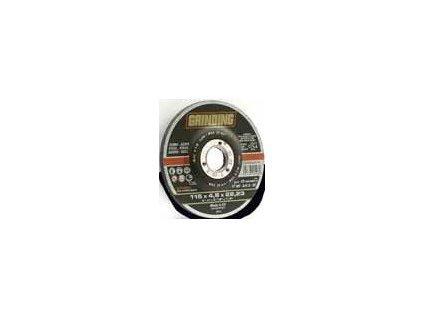 kotouč brus. CD115x6.4x22.2VT-MF ocel,zvýš.střed