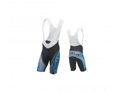 Cyklokalhoty KELLYS PRO Race krátké s vložkou blue - XL (016)